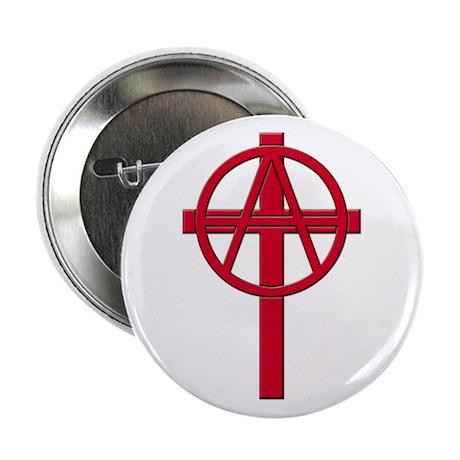 "Anarchist Crucifix 2.25"" Button"