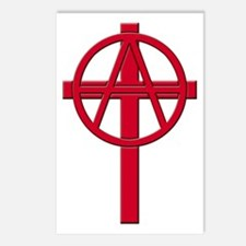 Anarchist Crucifix Postcards (Package of 8)