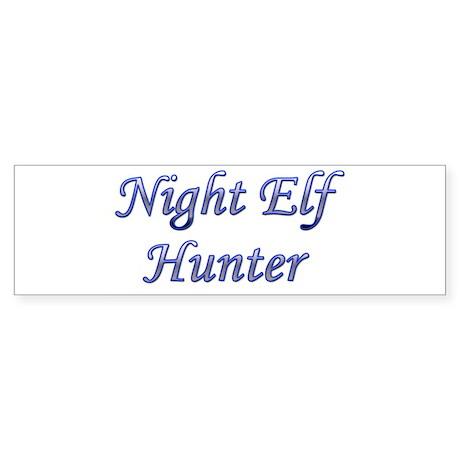 Night Elf Hunter Bumper Sticker