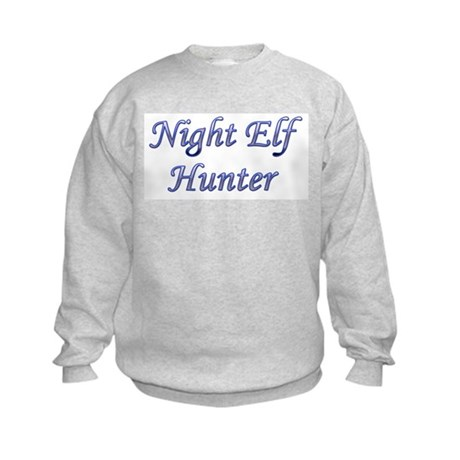 Night Elf Hunter Kids Sweatshirt