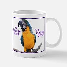 A Rescue Bird is a Happy Bird! Mugs