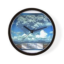 Mt. Pinatubo Wall Clock
