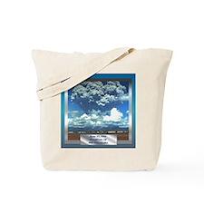 Mt. Pinatubo Tote Bag