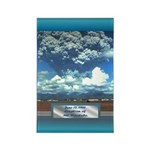 Mt. Pinatubo Rectangle Magnet (10 pack)