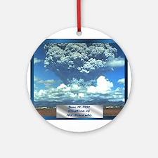 Mt. Pinatubo Ornament (Round)