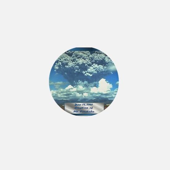 Mt. Pinatubo Mini Button