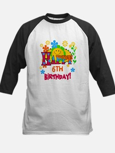 Joyful 6th Birthday Tee