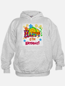 Joyful 6th Birthday Hoodie