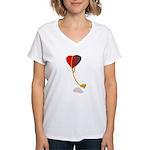 love lockdown Women's V-Neck T-Shirt