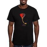 love lockdown Men's Fitted T-Shirt (dark)
