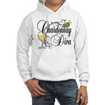 Chardonnay Diva Hooded Sweatshirt