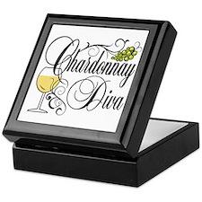 Chardonnay Diva Keepsake Box