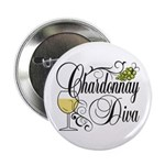 "Chardonnay Diva 2.25"" Button (10 pack)"