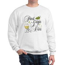 Pinot Grigio Diva Sweatshirt