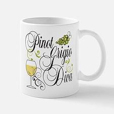 Pinot Grigio Diva Mug