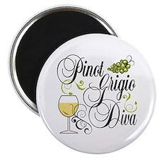 Pinot Grigio Diva Magnet