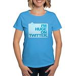 I'm Huge on Twitter. Women's Dark T-Shirt