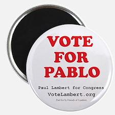 "Vote For Pablo 2.25"" Magnet (10 pack)"