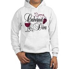 Cabernet Wine Diva Hoodie