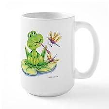 Logan the frog Mug