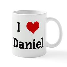 I Love Daniel Mug