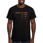 Light My Fire Men's Fitted T-Shirt (dark)