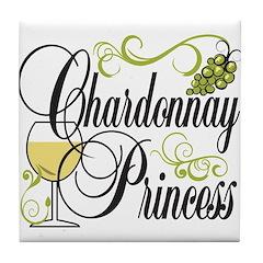 Chardonnay Princess Tile Coaster