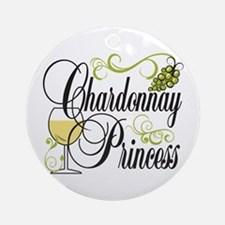 Chardonnay Princess Ornament (Round)
