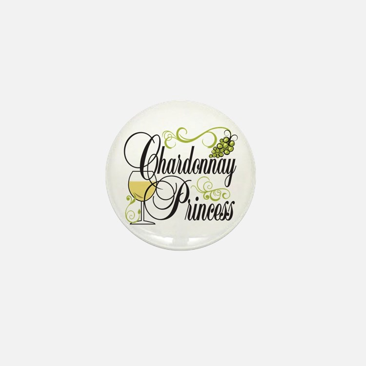Chardonnay Princess Mini Button