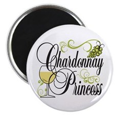 Chardonnay Princess Magnet