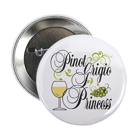 """Pinot Grigio Princess 2.25"""" Button (100 pack)"""