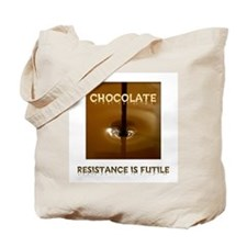 CHOCOLATE ADDICT Tote Bag