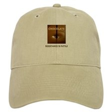 CHOCOLATE ADDICT Baseball Cap