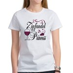 Zinfandel Wine Princess Women's T-Shirt