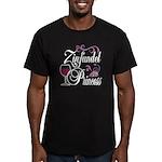 Zinfandel Wine Princess Men's Fitted T-Shirt (dark