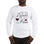 Zinfandel Wine Princess Long Sleeve T-Shirt