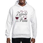 Zinfandel Wine Princess Hooded Sweatshirt