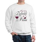 Zinfandel Wine Princess Sweatshirt
