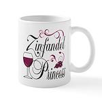 Zinfandel Wine Princess Mug