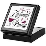 Zinfandel Wine Princess Keepsake Box