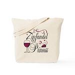 Zinfandel Wine Princess Tote Bag