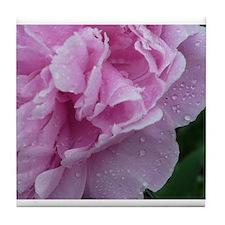Pink Flower Tile Coaster