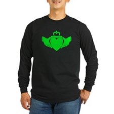 Crazy Green Claddagh T