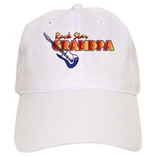 Rock Star Grandpa Baseball Cap