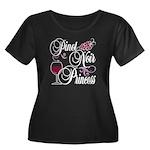 Pinot Noir Princess Women's Plus Size Scoop Neck D