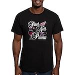 Pinot Noir Princess Men's Fitted T-Shirt (dark)