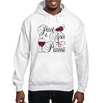 Pinot Noir Princess Hooded Sweatshirt