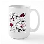 Pinot Noir Princess Large Mug