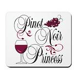 Pinot Noir Princess Mousepad