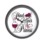 Pinot Noir Princess Wall Clock
